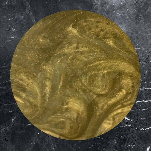 Bronze gold effect
