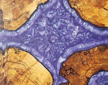 amethyst purple pigment