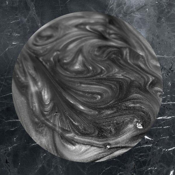 Silver grey effect