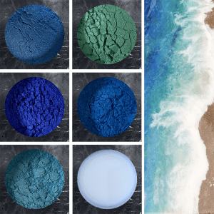 caribbean sea pigment pack pourpoxy