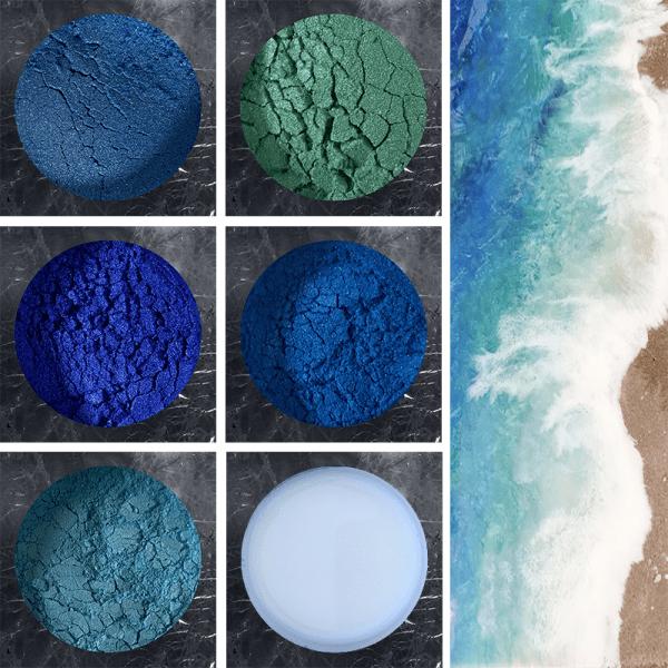 caraïbische zee pigment pack pourpoxy