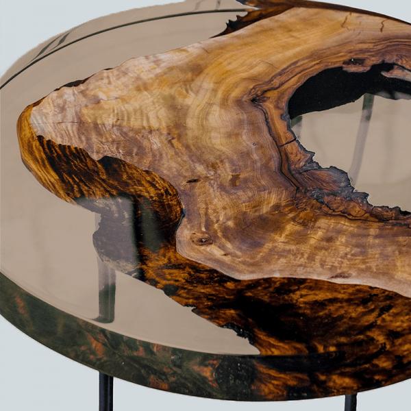 pourpoxy transparent Brown