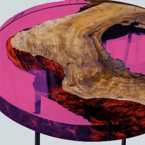 gietbaar transparant violet