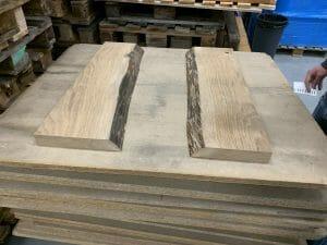 Auswahl von Holz