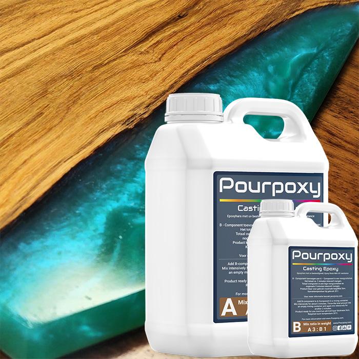 Casting resin pourpoxy