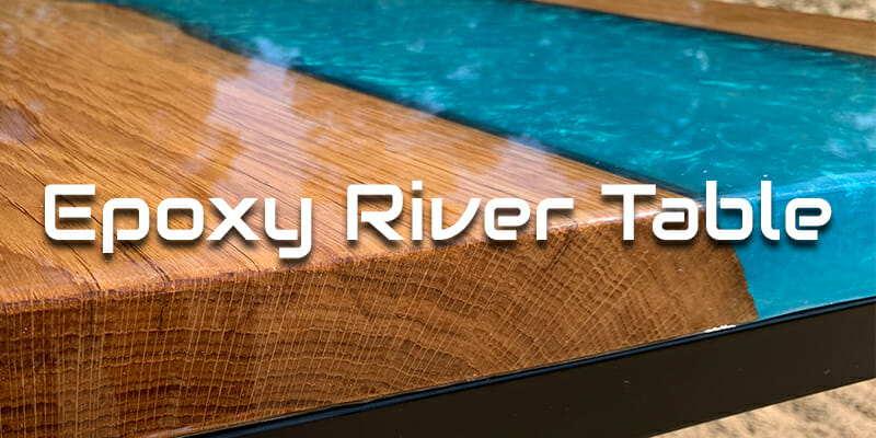 pourpoxy resin river table