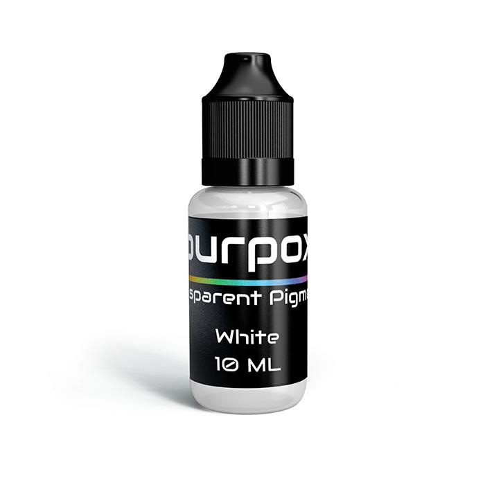 White transparent pigment