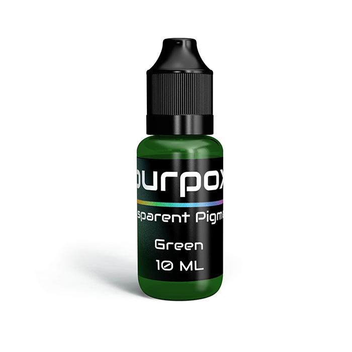 green transparent pigment
